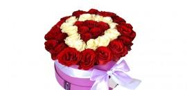 5. Цветы в декоративных коробках