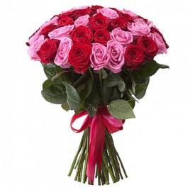 Красные и розовые